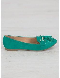 Elegantné kožené topánky