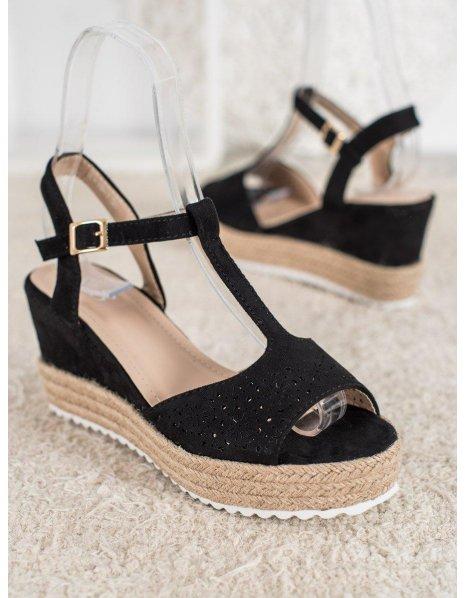 Ploché sandále s korálkami