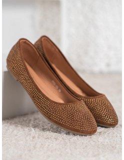 Perleťové sandále na kline so vzorom