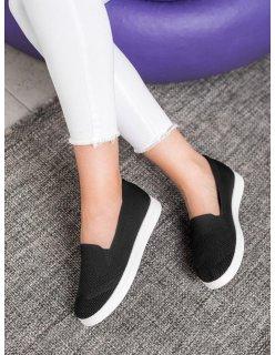 Ľahké sandále biele na kline