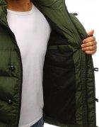 Bunda pánska zimná prešívaná zelená