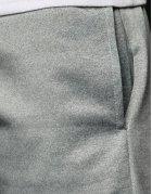 Svetlošedé pánske teplákové nohavice
