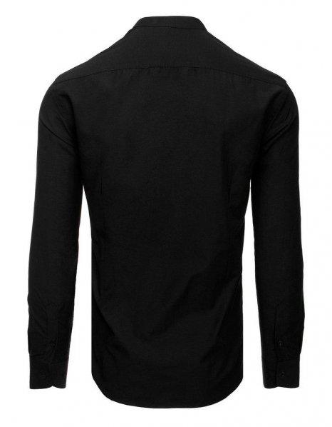 Elegantná čierna pánska košeľa