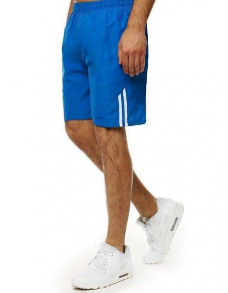 Modré pánske plavkové kraťasy