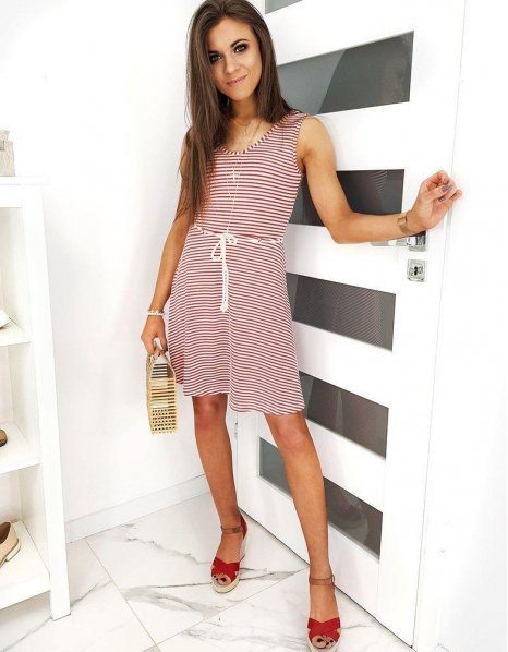 Červené šaty Tamari