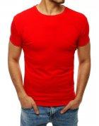 Pánske červené tričko bez potlače