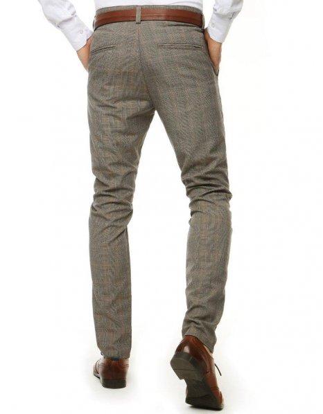 Šedé pánske nohavice