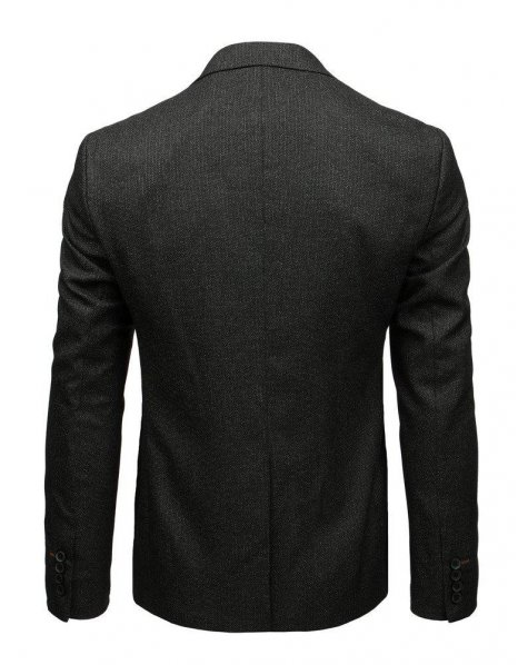 Pánske čierne sako