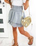 Svetlošedá sukňa Marival