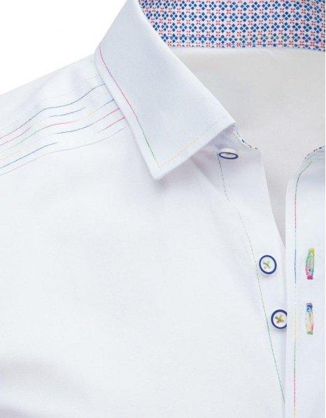 Biela pánska elegantná košeľa