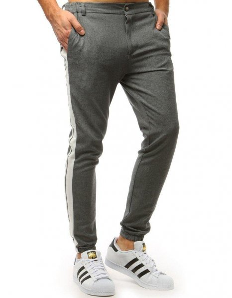 Pánske jogger nohavice antracitové