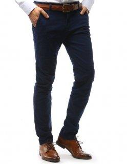 Pánske sako vo výraznej modrej