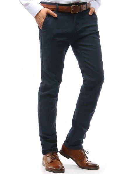 Grafitové pánske nohavice