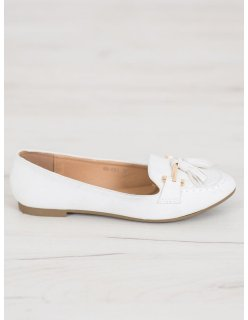 Pohodlné športové topánky bielo-modré