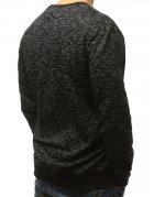 Čierna pánska mikina s potlačou