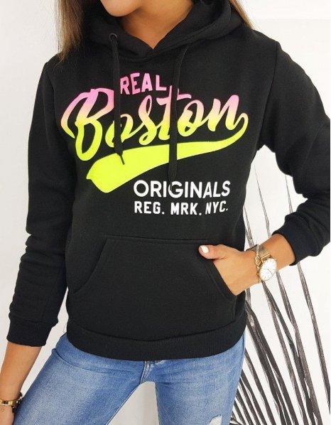 Dámska mikina Real Boston čierna