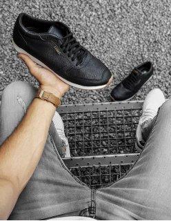 Elegantné šedé sandále