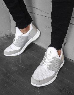 Športové topánky čierne neformálne
