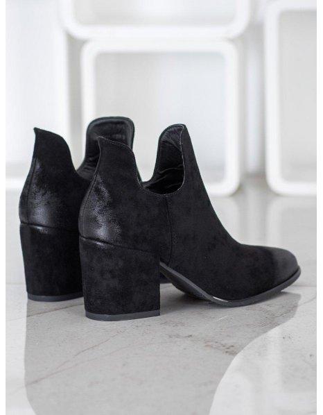 Hnedé elegantné topánky