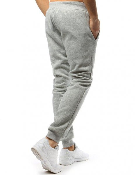 Pánske teplákové šedé nohavice