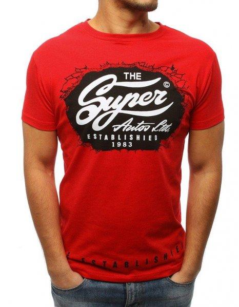 Červené tričko The Super