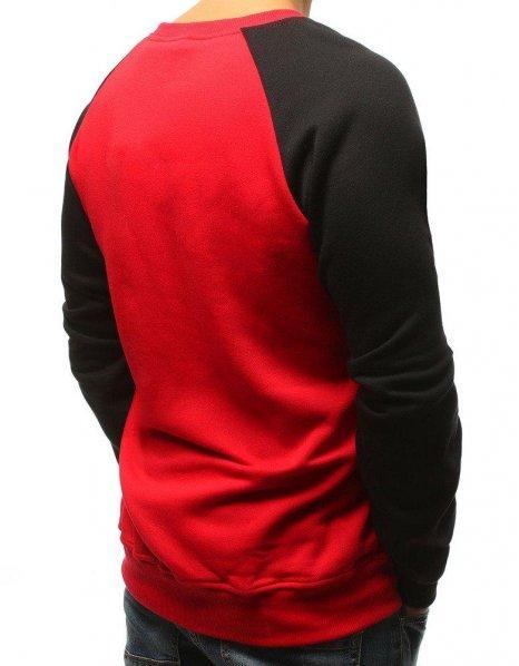 Pánska červená mikina