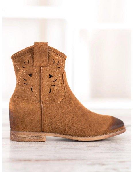Ružové topánky na suchý zips