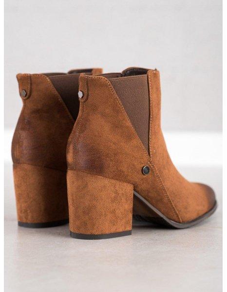 Modré textilné topánky