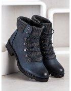 Mätové nazúvacie textilné topánky