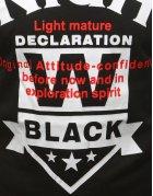 Pánske čierne tričko s potlačou
