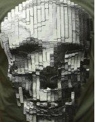Pánske tmavozelené tričko s potlačou