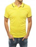 Žlté pánske Polo tričko