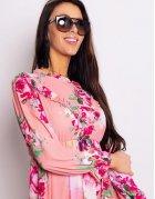 Broskyňové šaty De Flor