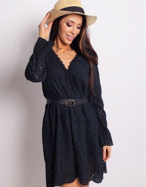 Čierne šaty Mercy