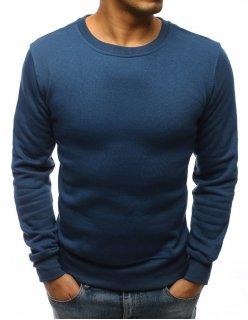 Pánske modré kraťasy s džínsovým vzhľadom