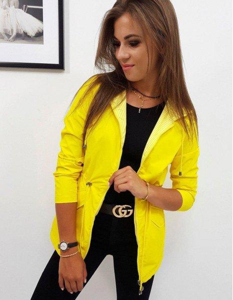 Obojstranná dámska žltá bunda Theresa