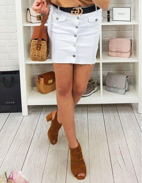 Biela sukňa