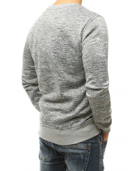 Nohavice teplákové pánske šedé