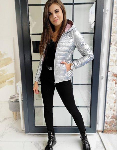 Košela džínsová s krátkym rukávom
