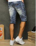 Ľahko ošúchané džínsové nohavice