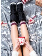 Mikina pánska s potlačou čierna