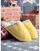 Klasické žlté papuče
