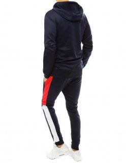 Pánska tmavomodrá zimná bunda