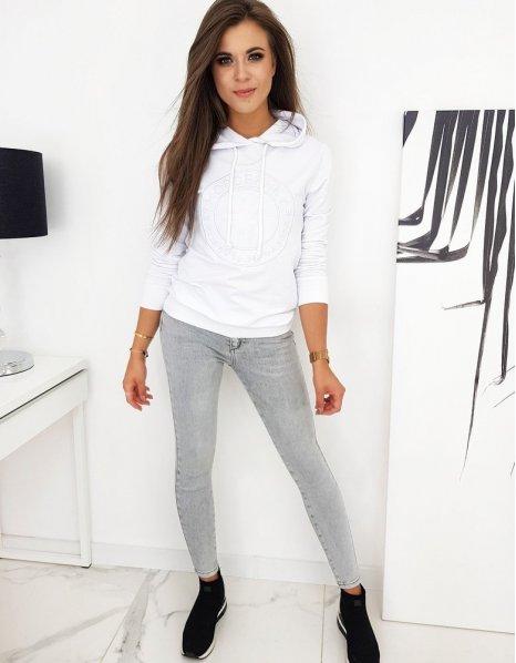 Tričko pánske s potlačou biele