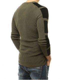 Tričko pánske s nášivkami šedé