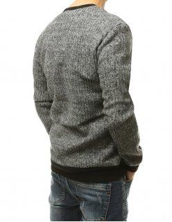 Tričko pánske s potlačou šedé