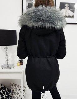 Dvojvrstvová sukňa svetlo šedá