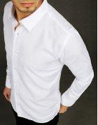 Biela elegantná pánska košela