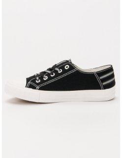 Čierne nízke tenisky