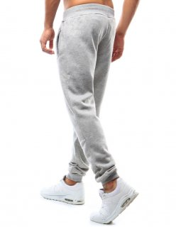 Nohavice pánske teplákové antracitové